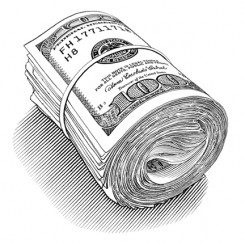 pen and ink motley money roll