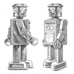 crosshatch motley robots