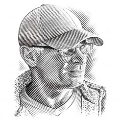 crosshatch portrait keith witmer