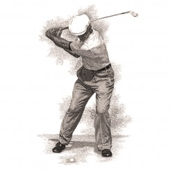 crosshatch sports ben hogan swing