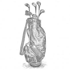 scratchboard sports golf swing follow through