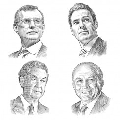 crosshatch portraits corporate hedcut shots