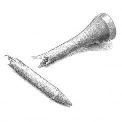 pen and ink sports broken tee