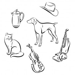 line art graphic image icon images