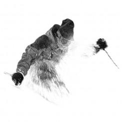 stipple sports powder skiing