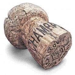 stipple motley champagne cork