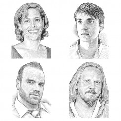 stipple portraits – architect magazine